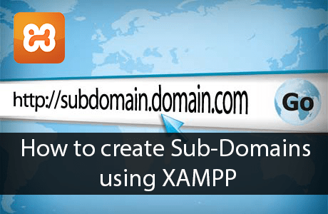 How to Create Subdomain Using XAMPP