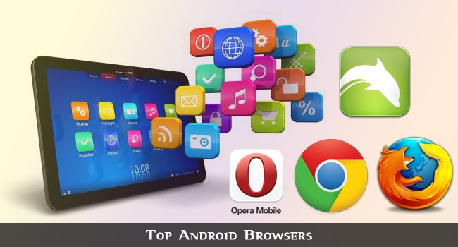 Top 5 Android Browsers