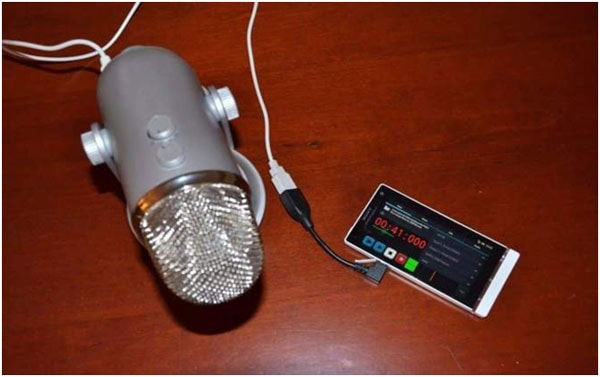External Voice Recorder