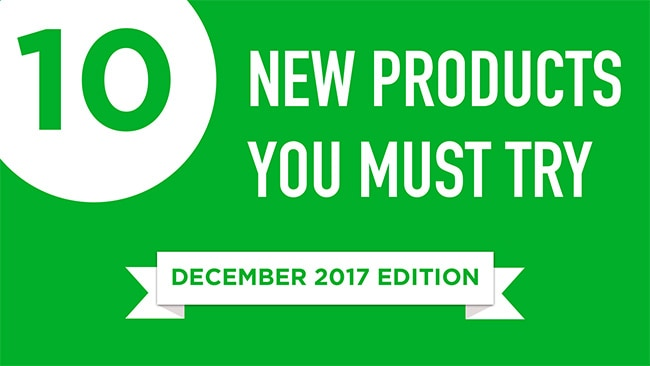 10 New Products That you Must Check Out: December Edition